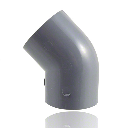 ABS Elbow 45° with solvent weld sockets