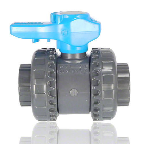 PVC U 2-Way Ball Valve Water