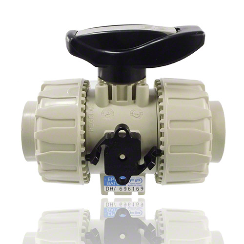 PP 2-Way Ball Valve