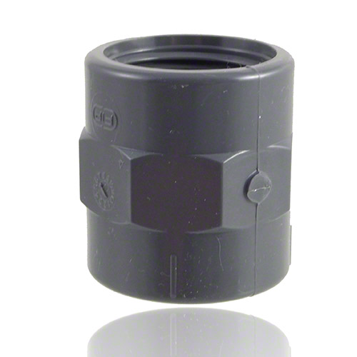 PVC U Double socket