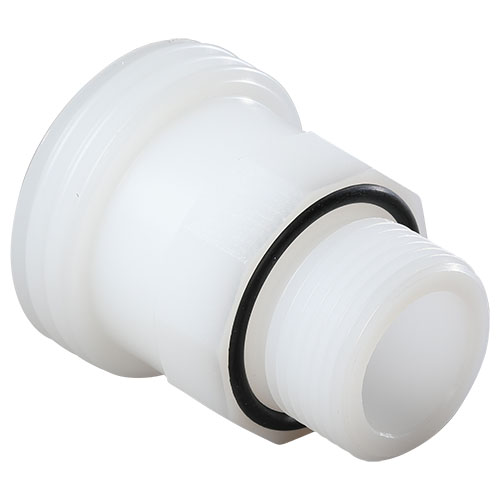 PE-natural dairy pipe thread adapter